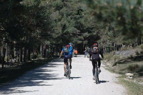 La comarca de Adesgam pedalea en Ciclamadrid