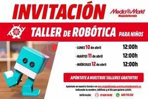 Taller de robótica para niños en Media Markt