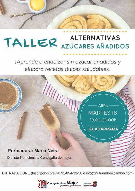 Nuevos talleres de mujer del ayuntamiento de Guadarrama.