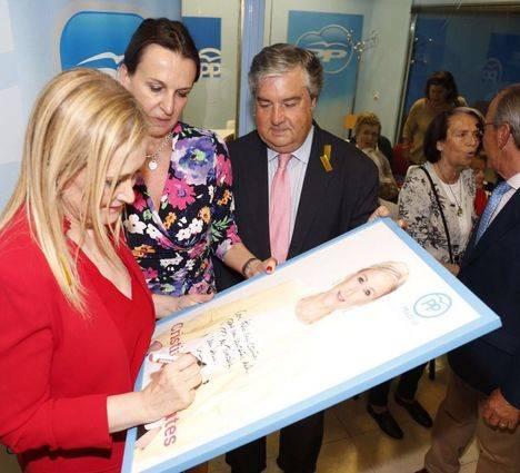 Cristina Cifuentes inaugura la nueva sede del Partido Popular