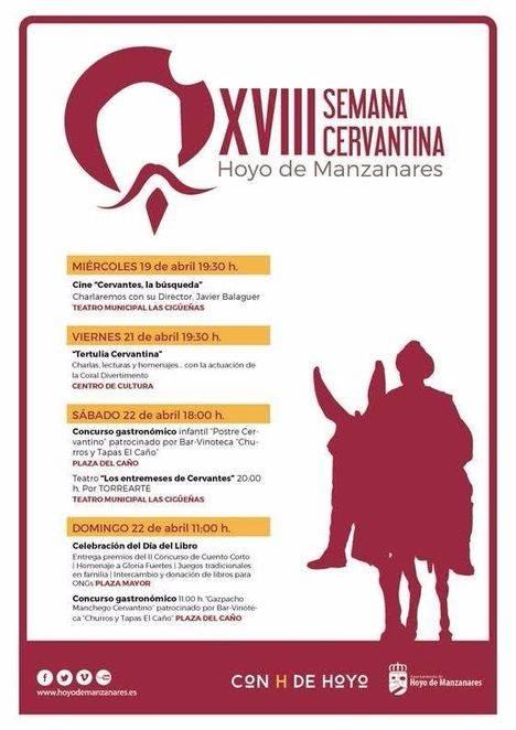 XVIII Semana Cervantina en Hoyo de Manzanares