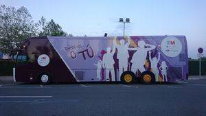 """El autobús """"Drogas o tú"""" visita Guadarrama"""