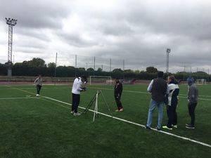 Finalizan las obras en el campo de fútbol del Polideportivo