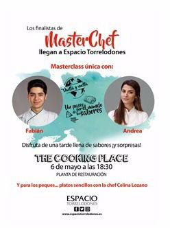 Los finalistas de MasterChef llegan a Espacio Torrelodones en su Cooking Place