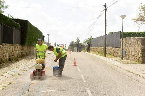 Comienza la renovación integral del alumbrado en Olivar de Mirabal