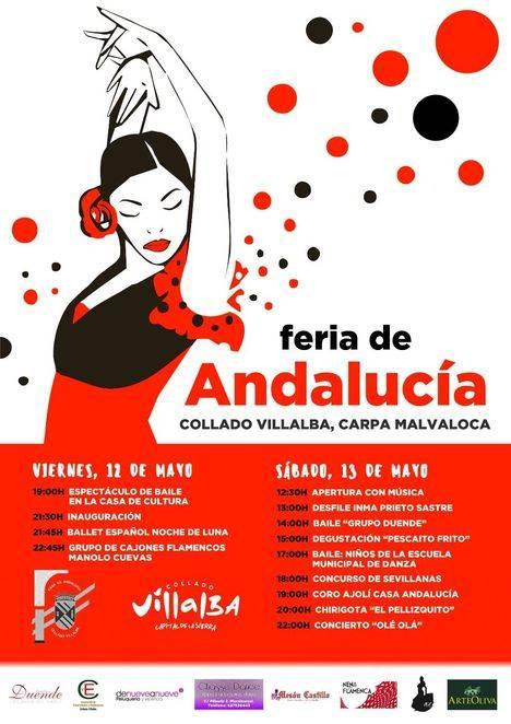 Feria de Andalucía en Collado Villalba este fin de semana