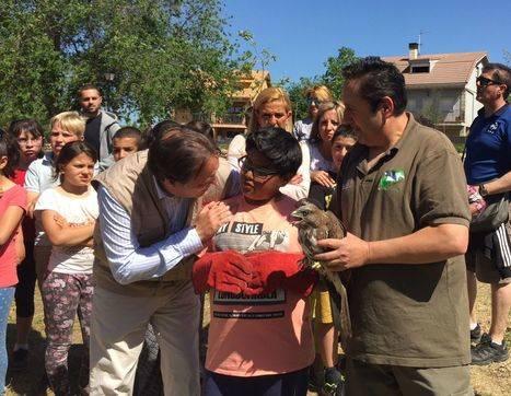 El consejero de Medio Ambiente celebra el Día Europeo de la Red Natura 2.000 con escolares