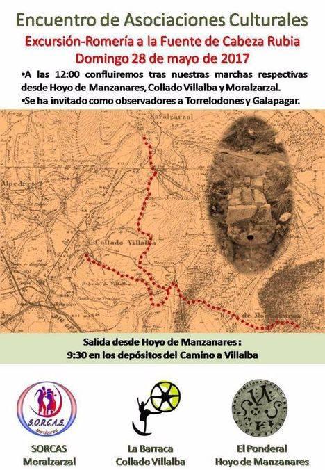 Una encrucijada de caminos reunirá en romería a cinco asociaciones culturales