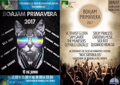 Nueva edición del Festival BOAJAM y de Ocio Nocturno
