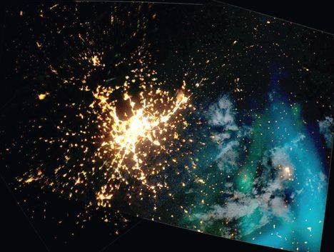Los vecinos se unen preocupados por la contaminación lumínica
