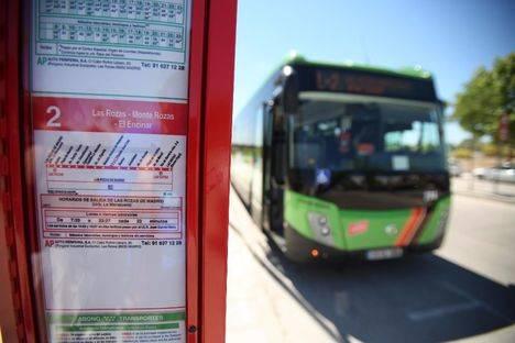 Operativas las modificaciones de 3 líneas de autobús que dan servicio a Las Rozas
