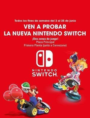Diviértete con la Nintendo Switch en Sexta Avenida