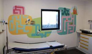 El Hospital General estrena decoración terapéutica en urgencias pediátricas