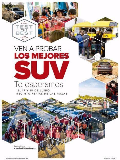 """La Feria del Motor """"Test The Best SUV"""" este fin de semana en Las Rozas"""