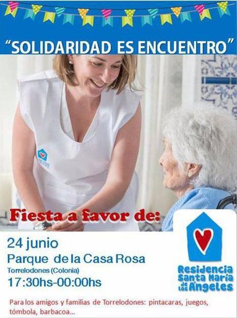 Fiesta Solidaria a beneficio de la Residencia Santa María de Los Ángeles