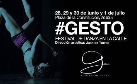 III edición del festival de danza contemporánea en la calle #GESTO