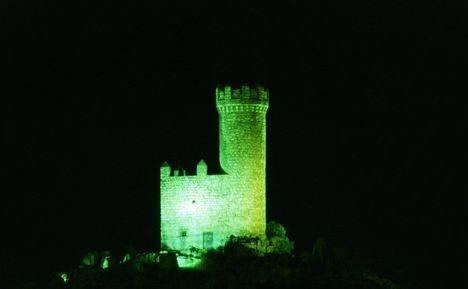 La Torre de los Lodones se tiñe de #VerdeConstancia