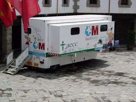La unidad móvil de mamografías visita Guadarrama desde el 6 al 13 de julio