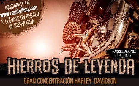 Harleys de leyenda en Torrelodones