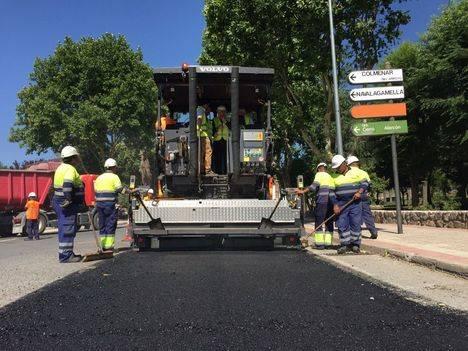 Comienzan las obras estivales de reparación en las carreteras regionales
