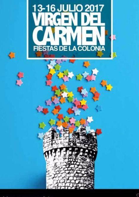Fiestas de la Virgen del Carmen en La Colonia del 13 al 16 de julio