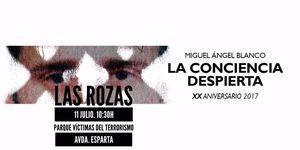 Las Rozas rendirá homenaje a Miguel Ángel Blanco en el XX aniversario de su asesinato por ETA