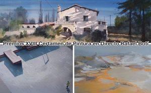 Celebrado el XVIII certamen de pintura en directo Rafael Boti