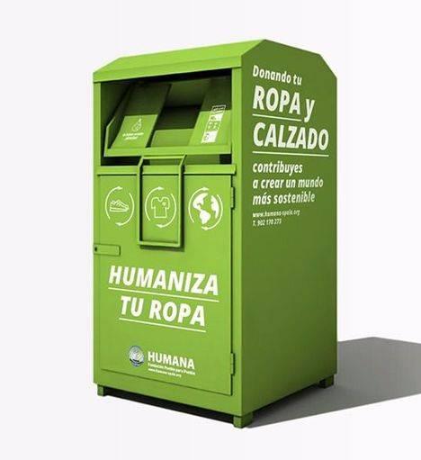 Torrelodones dona 47 toneladas de ropa usada a Humana