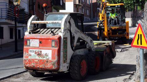La operación asfalto de este año llega al casco urbano de Galapagar