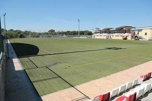 Renovación del césped artificial del Polideportivo Municipal