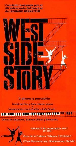 Concierto homenaje al famoso musical West Side Story