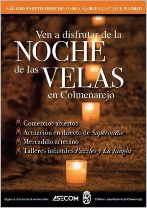 Noche de las Velas 2017 en Colmenarejo