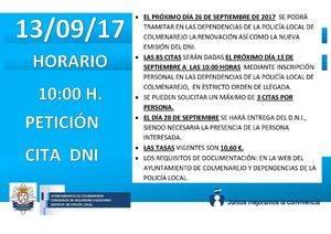 Nueva oportunidad para obtener o renovar el DNI sin salir de Colmenarejo