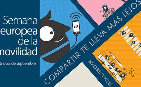 """Semana Europea de la Movilidad: """"Compartir te lleva más lejos"""""""