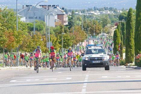 Majadahonda bate récord de participación en la Fiesta de la Bici