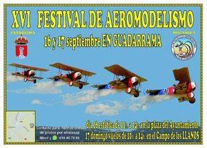 Guadarrama celebra su XVI Festival de Aeromodelismo