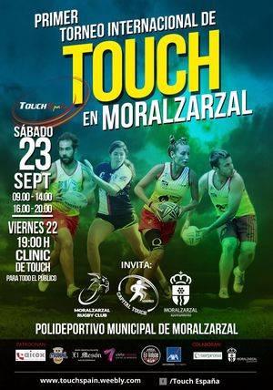 Primer torneo internacional de Touch Rugby de Moralzarzal