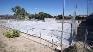 Abierta al público la nueva pista polideportiva Santa María en La Marazuela