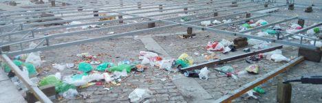 Unidos por Hoyo denuncia las Fiestas del vandalismo, las peleas y el botellón