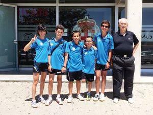 Once medallas para el tenis de mesa de Las Rozas