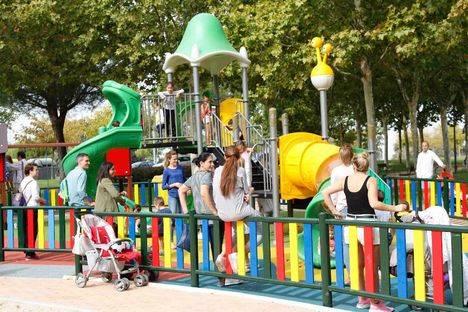 Inaugurado el parque de Jorge Manrique tras su remodelación