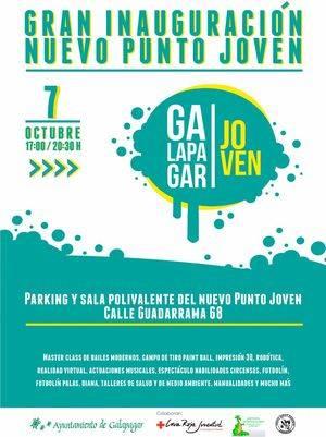 Galapagar inaugura oficialmente el Punto Joven