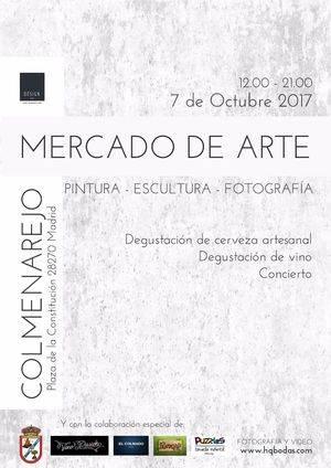 I Mercado de Arte de Colmenarejo