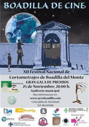 Seleccionados los cortometrajes finalistas del XII Festival de Boadilla del Monte