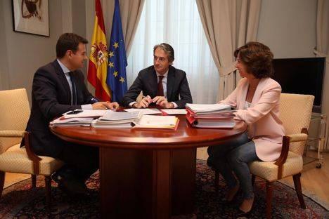 José de la Uz se reúne con el ministro de Fomento