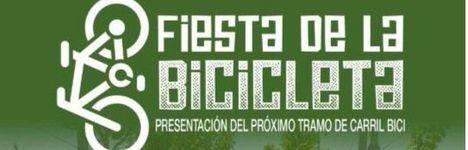 Marcha ciclista para presentar el proyecto de construcción de un nuevo tramo de carril bici