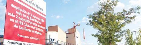 IES García Nieto: un nuevo curso rodeados de obras y en barracones
