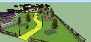 El parque de La Marazuela tendrá kiosko-bar, zona infantil e instalaciones deportivas