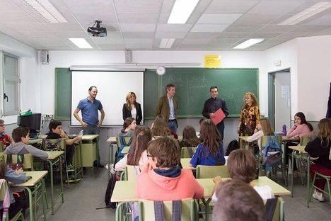 Talleres de prevención de la violencia de género en los institutos de Boadilla