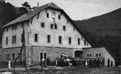 El Chalet Peñalara en 1921